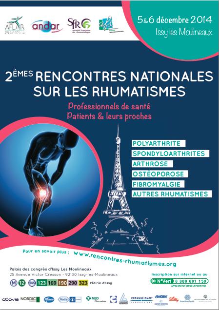Education Thérapeutique - Programme « Mieux Vivre les Rhumatismes Inflammatoires Chroniques »